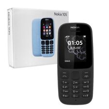 BRAND NEW NOKIA 105 SIM-FREE 1.8 INCH MOBILE PHONE - 2017 EDITION - BLACK