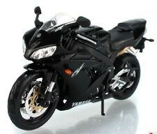 MAISTO 1:12 Yamaha YZF R1 Black MOTORCYCLE BIKE DIECAST MODEL TOY NEW IN BOX