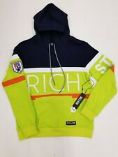 Rich Star Big Logo UNITED STAR HOODIE R5230220 SAMPLE LARGE NICE NEW 1OF1 EMBROI