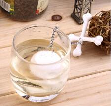 Green tea bags  Strainer Diffuser Teapot Infuser Skull Tea-Leaf Filter Silicone