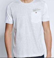 Cotton Blend Stretch Striped Big & Tall T-Shirts for Men