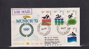 Australia 1972, Royal Munich '72 Olympics FDC