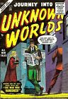 Journey Into Unknown Worlds 34 Comic Book Cover Art Giclee Repro on Canvas
