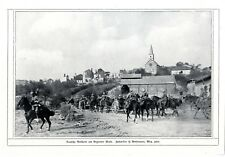 1.WK Deutsche Artillerie am Argonner Wald Histor. Memorabilie von 1914