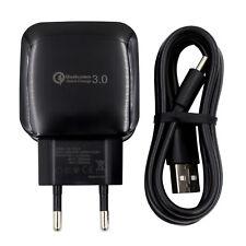 QC 3.0 USB Fast Schnell Ladekabel Netzteil Ladegerät für HTC u Play Samrtphone