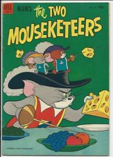 1953 Dell Four Color #475 The Two Mouseketeers #1 Fine