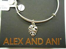 Alex and Ani Palm Leaf Rafaelian Silver NWTBC