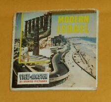 vintage Sawyers MODERN ISRAEL VIEW-MASTER REELS packet souvenir pak