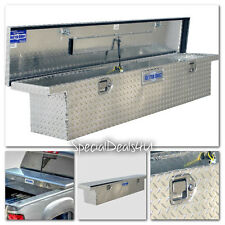 Truck Bed Tool Storage Aluminum Low Profile Full Size Slimline Box Toolbox Car