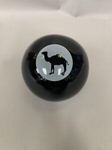 Joe Camel Billiard Eight Ball ASHTRAY RJR Tobacco Cigarettes NOS POOL TABLE