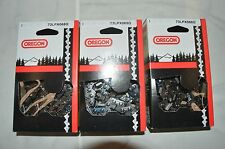 """3  73LPX068G Oregon full chisel 18"""" chainsaw chain 3/8 .058 68 DL 73LPX- 68"""