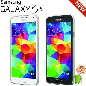 "Samsung Galaxy S5 G900A 16GB GSM 4G LTE Unlocked  Samrt Phone Warranty New 5.1"""