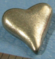 Late Sky Opoly San Fransisco heart FILLED BACK metal pewter token mover mini.