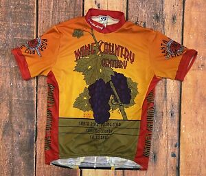 VOLER CYCLING JERSEY - WINE COUNTRY CENTURY SANTA ROSA CYCLING CLUB - MENS'