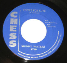 """Muddy Waters 7"""" 45 HEAR BLUES Recipe For Love CHESS #1739 Tell Me Baby VG+"""