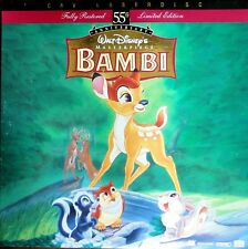 Disney Bambi: 55th Anniversary Limited Edition CAV Laser Disc LASERDISC
