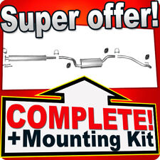 Ford Focus II/C-Max 1.6 1.8 2.0 2004-2011 Silencer Exhaust System H81