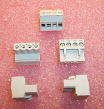 QTY (6) 4 POSITION TERMINAL BLOCKS 104771 EUCHNER CES-EA-TC-AK06-104771 ROHS