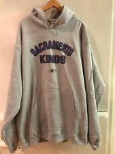 Sacramento Kings Gray Hoodie XL NBA Hooded Sweatshirt Authentic NWT