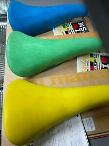Selle San Marco Saddle Concor (W.C.S.) (Pce) Green/Yellow/Blue