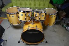 Vintage Ludwig Drum Set Blue and Olive badges Ludwig drums Vintage Ludwig