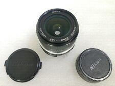 Nikon Nikkor 28mm f3.5 Ai wide angle camera lens vintage #210