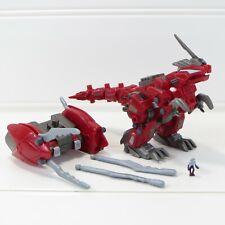 "Geno Breaker w/ Pilot - Zoids - 2002 Tomy Hasbro 5"" Action Figure Near Complete"
