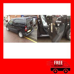Peugeot Partner 2008-2018 Front Doors Van Security Deadlock Kit