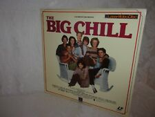 THE BIG CHILL COLLECTOR'S LASER VIDEO DISC COLUMBIA PICTURES  RATED-R