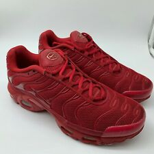 NIKE AIR MAX TN AIR TRAINERS 7 UK US 8 TRIPLE RED