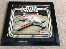 Vintage Star Wars X-WING XWING FIGHTER PALITOY BOX framed picture Nuxley Toys