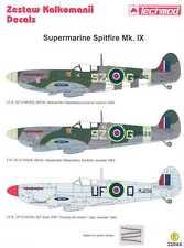 Techmod Decals 1/32 SUPERMARINE SPITFIRE Mk.IX Fighter
