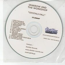 (DS854) Sparrow & The Workshop, Crystals Fall - 2008 DJ CD