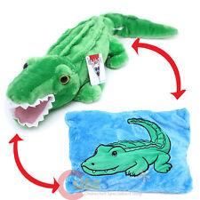 Alligator Plush Doll Transforming Pillow Crocodile Animal Peek A Boo Cushion