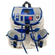 Star Wars Movie R2D2 Knapsack Backpack Bag School Costume