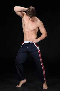 DESIGNER MENS JOGGING TROUSERS by MAN DODY - STRAIGHT/GAY- NEW  ALL SIZES.