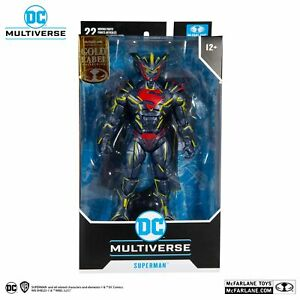 DC Multiverse Superman Energized Unchained Armor Gold Label - McFarlane Toys