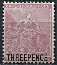 Cape of Good Hope 1880 3d on 4d Dull Rose surcharge, SG 35, Mint Hinged, CV £130