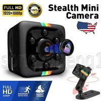 COP Mini CAM Security Camera Hidden Video Motion Detection 32GB Card SQ11 1080p