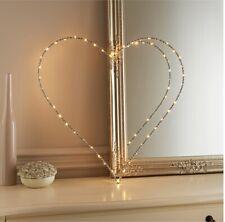 Light Up Glitz Wire Heart Sign - Home decor, Access6