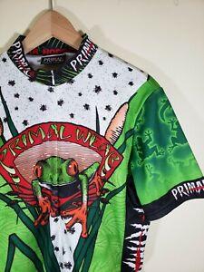 Primal Wear Cycling Jersey | Short Sleeve | Large | Frog Pattern 🐸 Bike Jersey