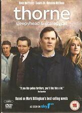 THORNE - SLEEPYHEAD And SCAREDYCAT. David Morrissey. Sky1 (2xDVD BOX SET 2011)