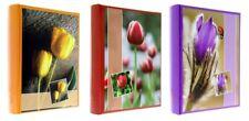 3 Album fotografici Flower a tasche 10x15 per 900 foto (300 foto cad.) con memo