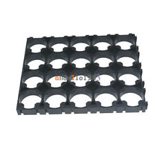 10PC 4x5 Cell 18650 Batteries Spacer Radiating Shell Plastic Heat Holder Bracket