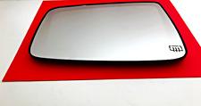 Fits 09-12 Ram 1500 10-12 2500, 3500 Left Mirror Glass w/ Rear Holder Heated