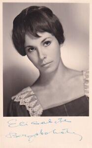 Elisabeth Berzobohaty - Foto: Dietrich, Wien - original signiert