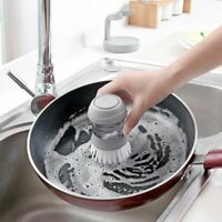 Cleaning Brushes Dish Washing Tool Soap Dispenser Refillable Pans Cups Bread