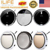 ILIFE V8S/V5S Pro/V5/A8/A6/A4S Smart Cleaning Robotic Vacuum Mopping Cleaner US