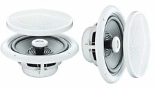 "PAIR 5"" 80w 4 OHM MOISTURE WATER RESISTANT CEILING SPEAKER FOR BATHROOM KITCHEN"