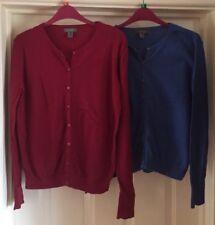 Primark Cardigan Bundle, Red + Blue, Size 10-12 - Lovely!